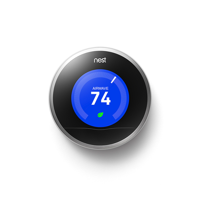 Nest Thermostat with Airwave klein