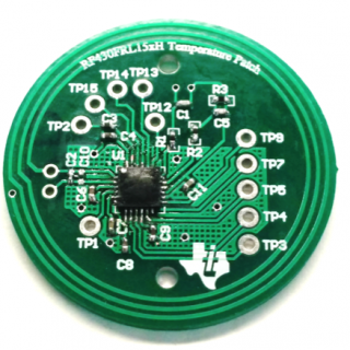 NFC Temperature Patch Reference Design