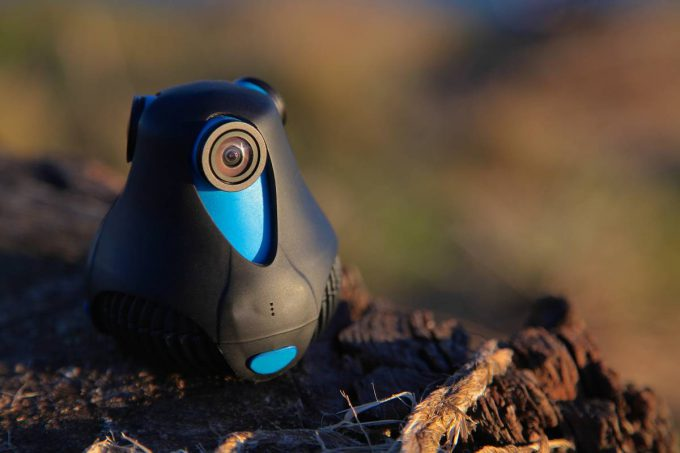 GIROPTIC 360cam - Close up