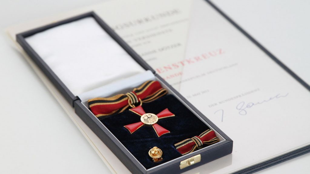 Federal Cross of Merit on Ribbon