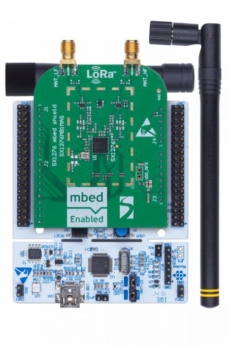 An Industrial IoT Equation You'll Love: STM32L4 + LoRa®