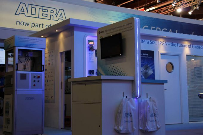 Altera booth embedded world 2016