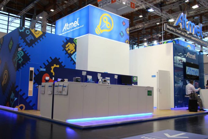 Atmel Booth Embedded World 2016