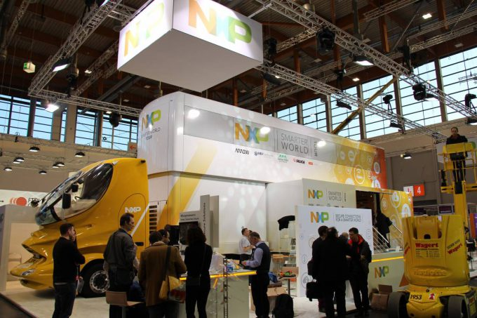 NXP Truck at Embedded World 2016