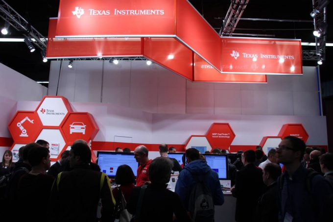 Texas Instruments at the embedded world 2016