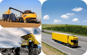 commercial, constuction and agriculture vehicles