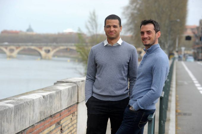The founders of Skylights: David Dicko, CEO and Florent Bolzinger, VP Engineering