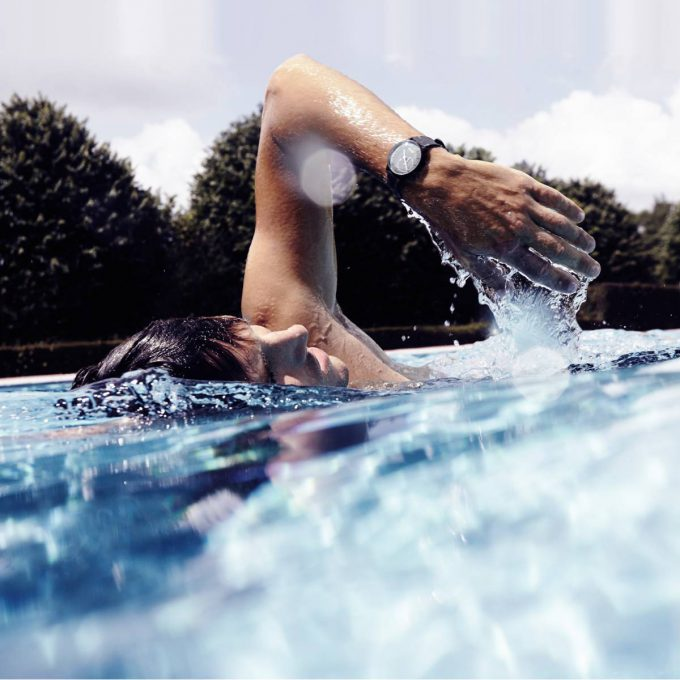 Withings Activité Pop swimming