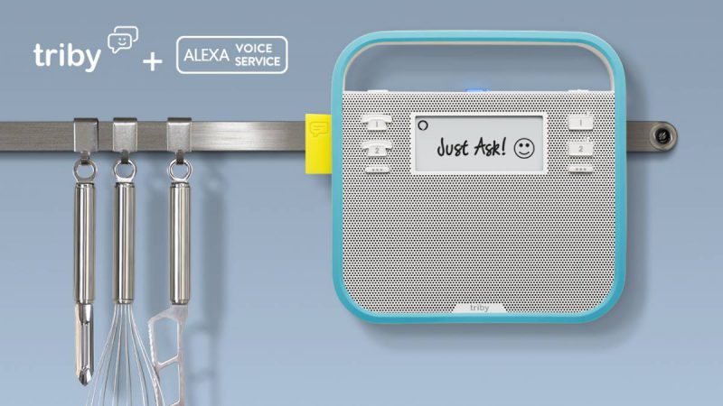 Triby + Alexa Announcement