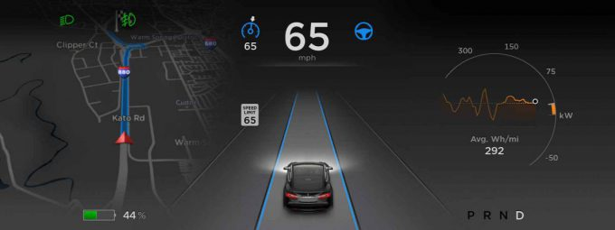 Tesla Model S Software 7.0