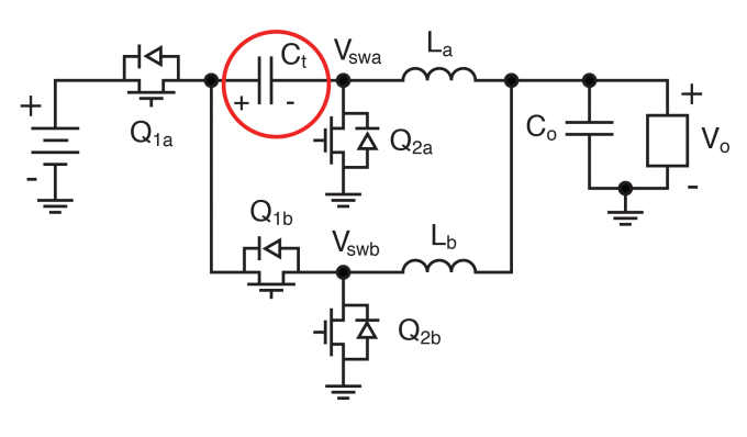 Block Diagram Series capacitor buck topology