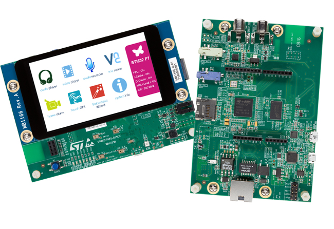 STM32F7 Discovery Board