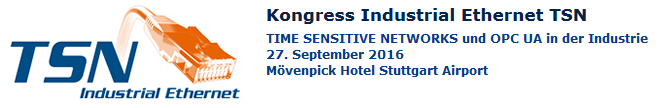 Kongress Industrial Ethernet TSN