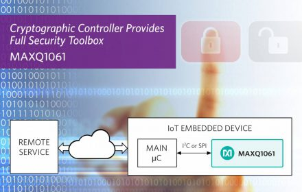 MAXQ1061-DeepCover-cryptographic-controller
