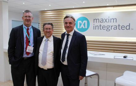 maxim integrated electronica booth