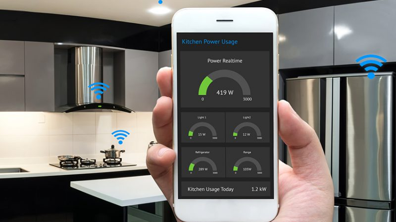 smart home connected kitchen