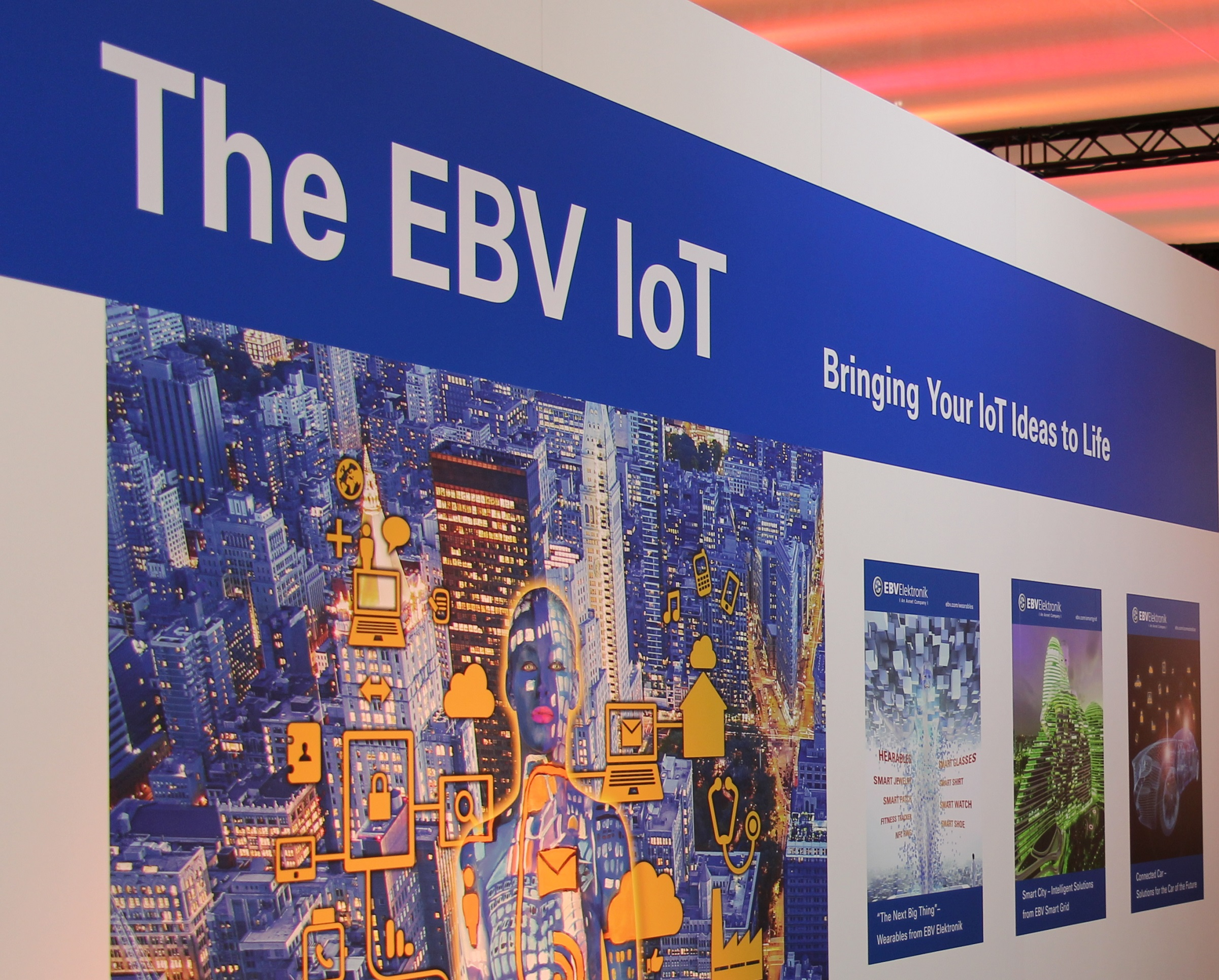 embedded world ebv iot