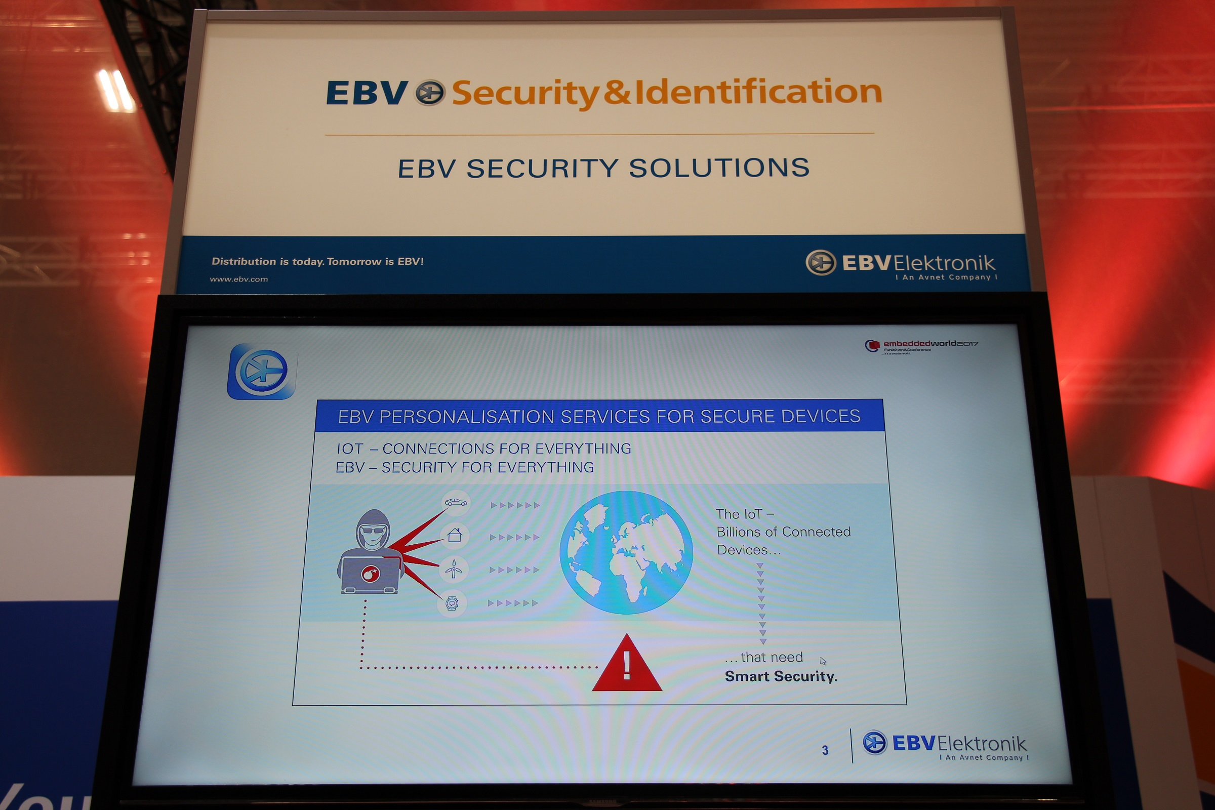 Embedded World 2017 Security Identification