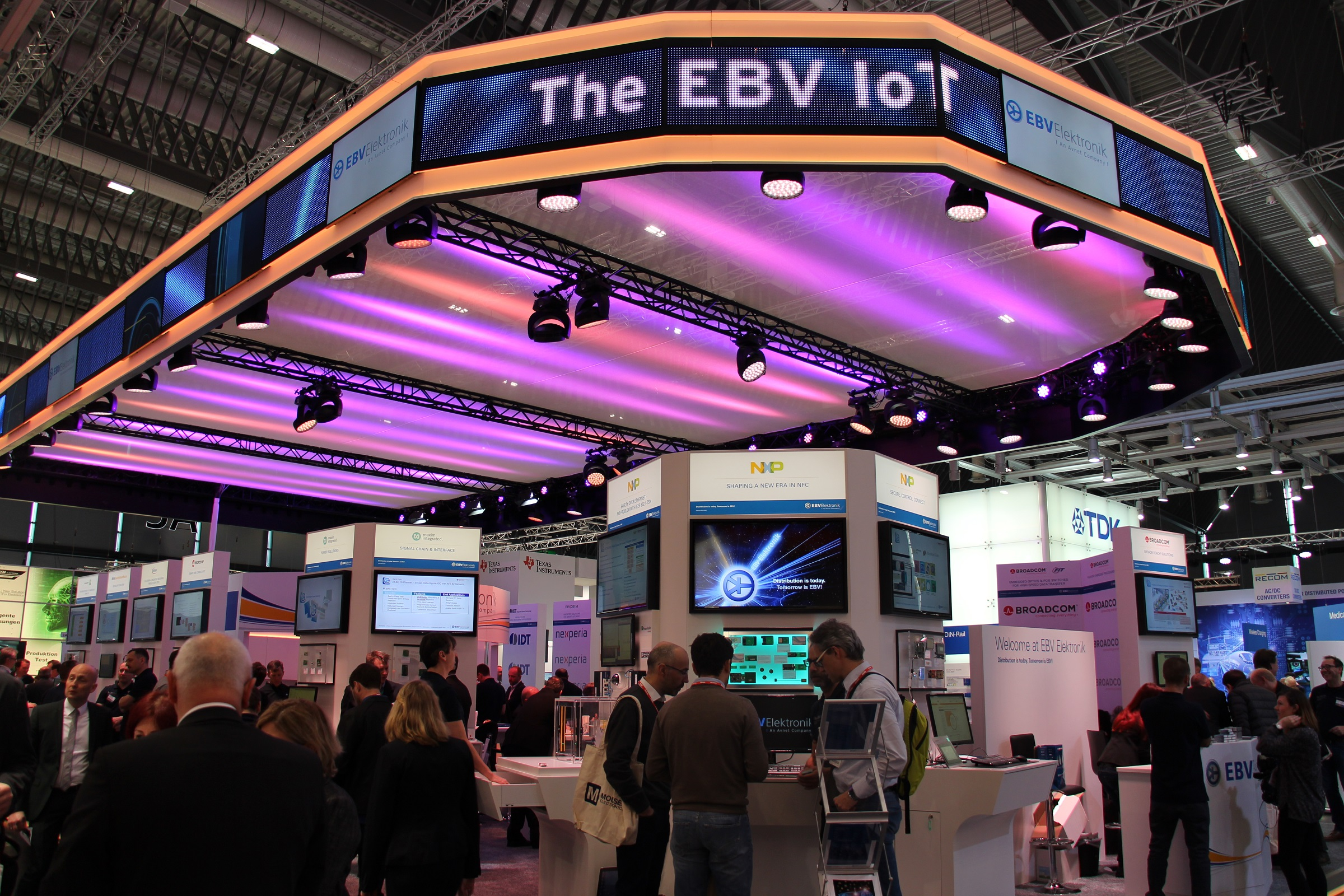 Embedded World 2017 EBV booth