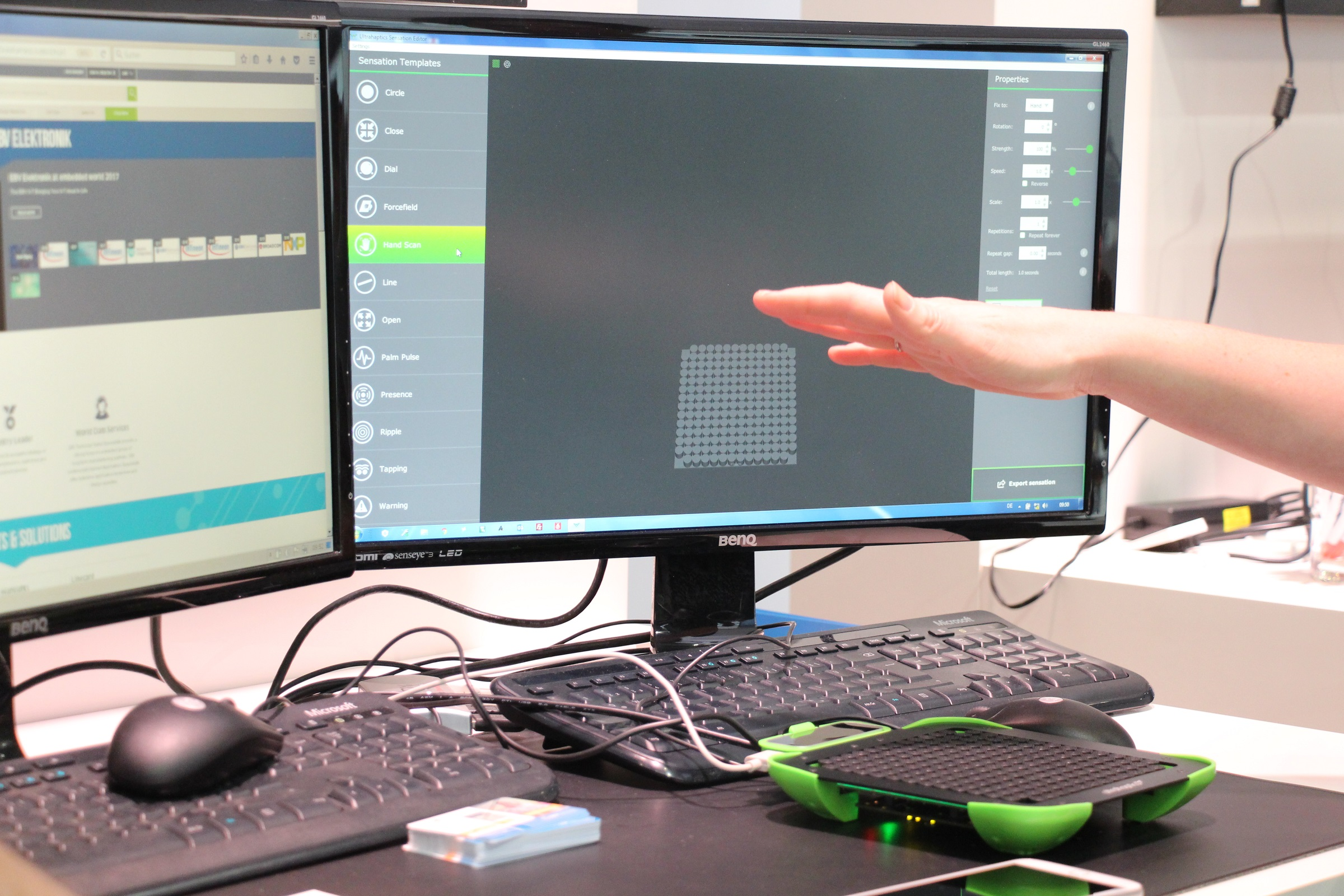 Ultrahaptics Touch Development Board