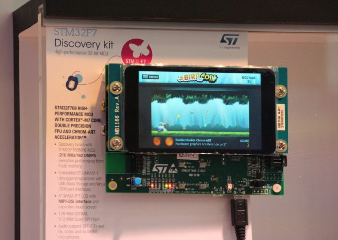STM32F769I-DISCO discovery board ARM mbed enabled