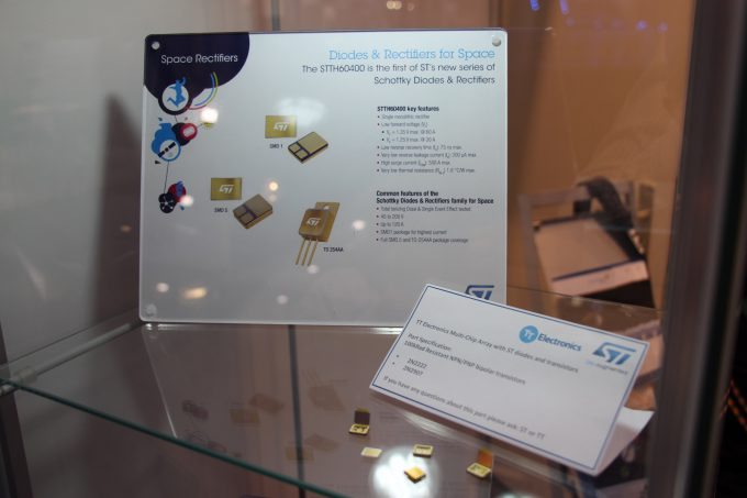 STMicroelectronics Diodes and rectifiers for space