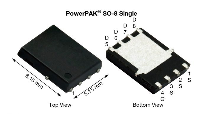 vishay mosfet PowerPAK SO-8 Single