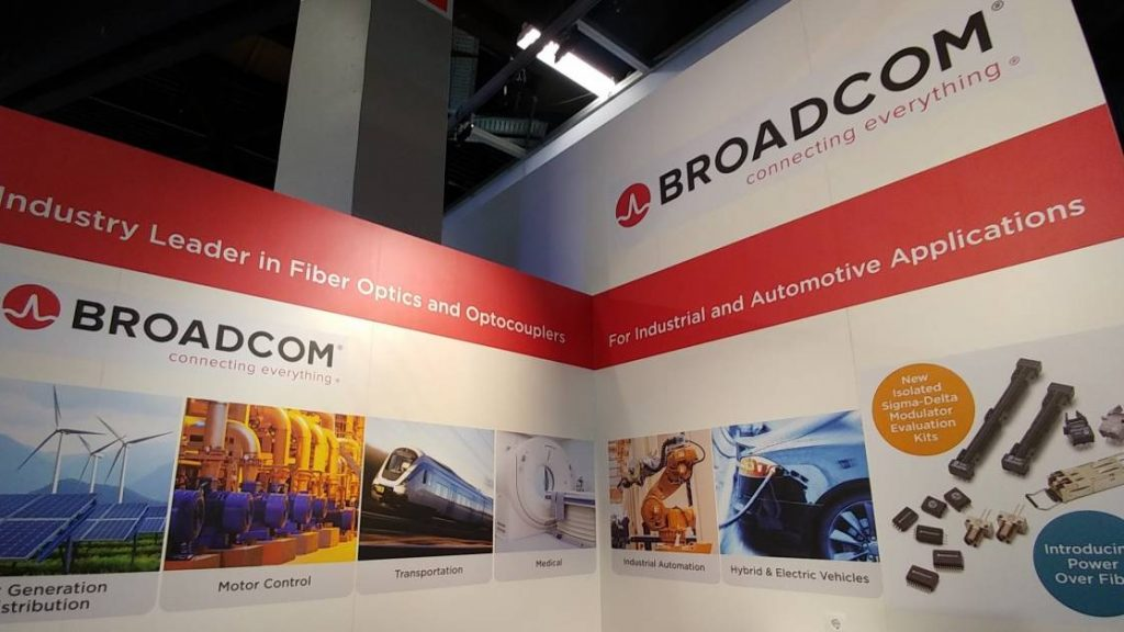 Broadcom Power over Fiber Cover