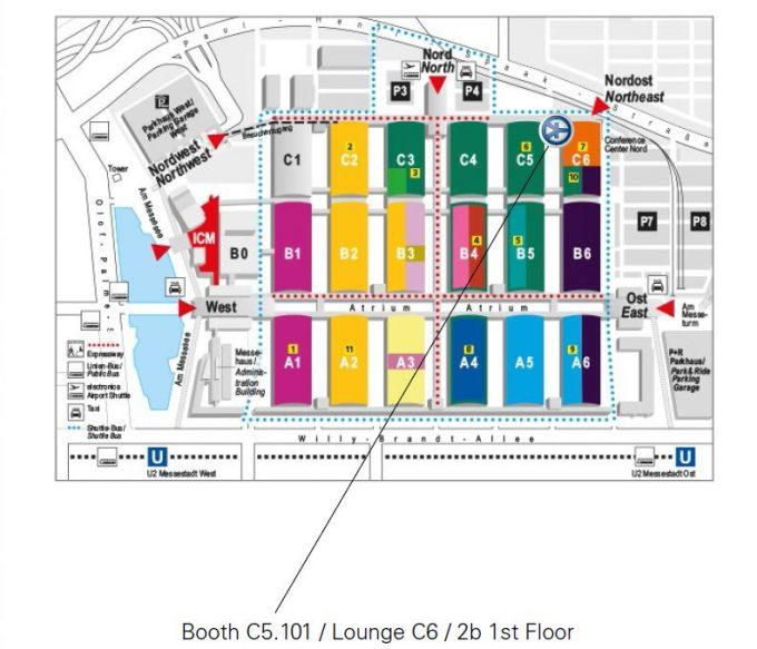 electronica booth plan
