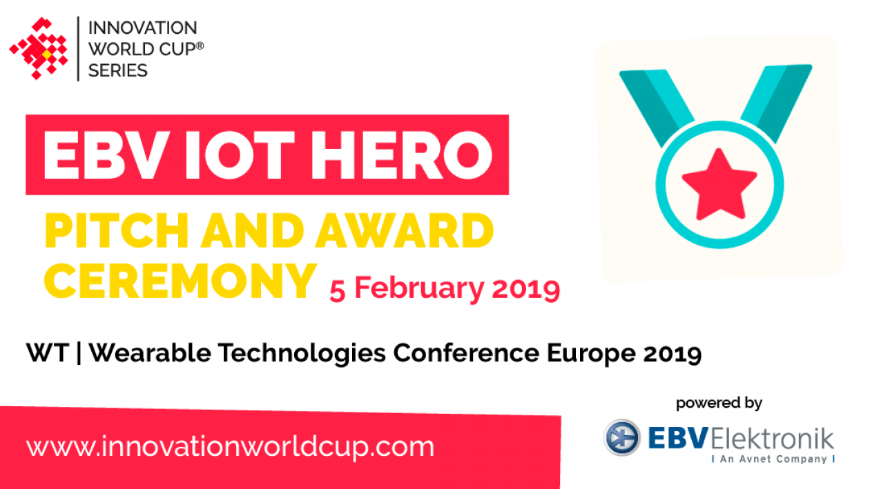 EBV IOT HERO Finalists Innovation World Cup
